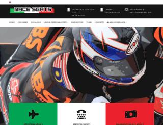 raceseats.it screenshot