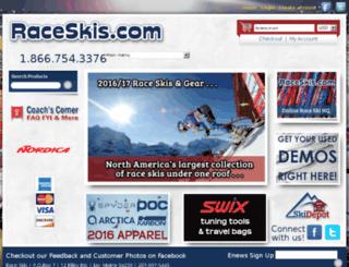 raceskis.ski-depot.com screenshot
