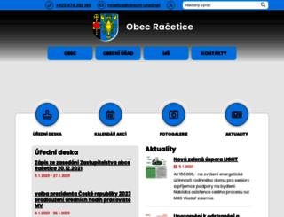 racetice.cz screenshot