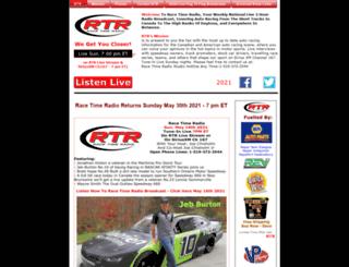racetimeradio.com screenshot