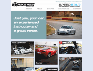 raceweb.co.za screenshot