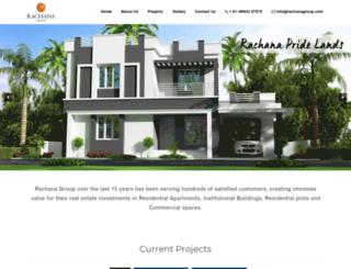 rachanagroup.com screenshot