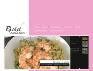 rachel-cuisine.fr screenshot