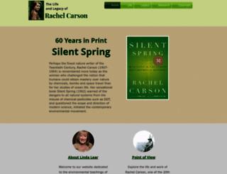 rachelcarson.org screenshot