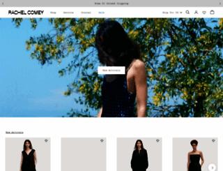rachelcomey.com screenshot