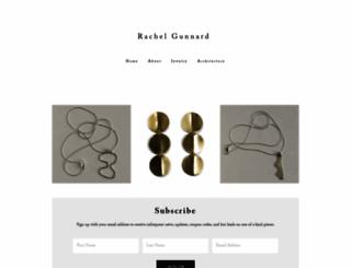 rachelgunnard.com screenshot