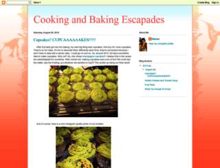 rachelsbakingescapades.blogspot.com screenshot