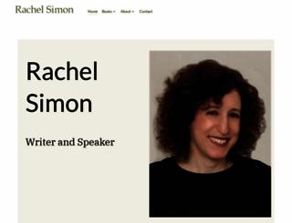 rachelsimon.com screenshot