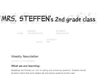 rachelsteffen.com screenshot