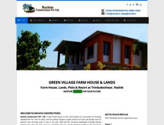rachitaconstructions.com screenshot