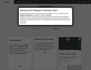 rachot.cz screenshot