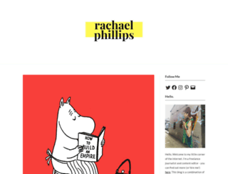 rachphillips.com screenshot