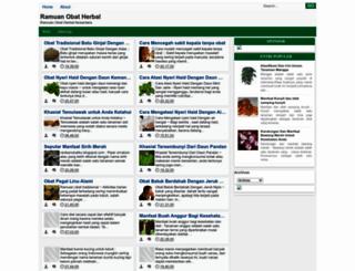racikanobatku.blogspot.com screenshot