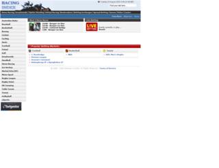 racing-index.bestbetting.com screenshot
