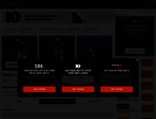 racing.betting-directory.com screenshot