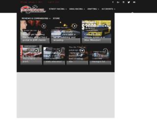 racing.fimizone.com screenshot