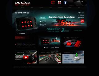 racing.qstarz.com screenshot