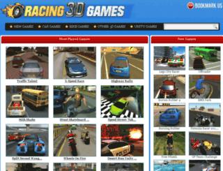 racing3dgames.com screenshot