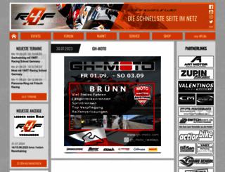 racing4fun.de screenshot
