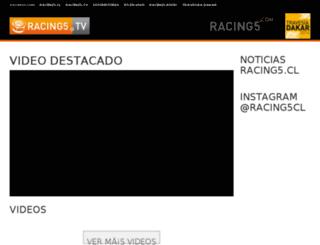 racing5.tv screenshot
