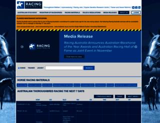 racingaustralia.horse screenshot