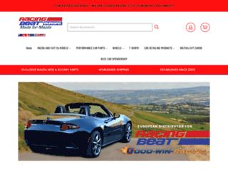 racingbeateurope.com screenshot