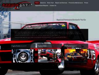 racingboys.co.za screenshot