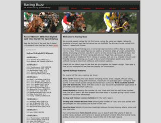 racingbuzz.co.uk screenshot