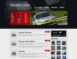 racingcode.ro screenshot
