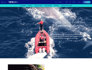 racingextinction.com screenshot