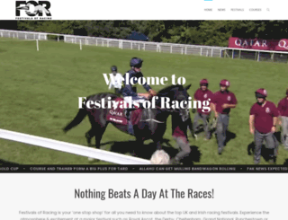 racingfestivals.co.uk screenshot