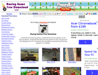 racinggamefreedownload.com screenshot