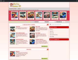 racinggames60.com screenshot