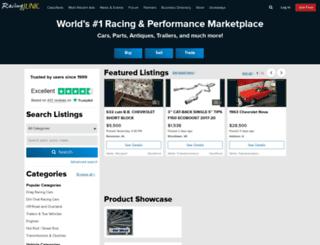 racingjunk.com screenshot
