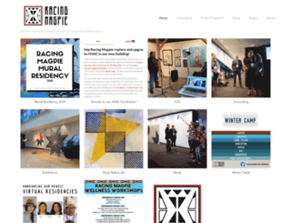 racingmagpie.squarespace.com screenshot