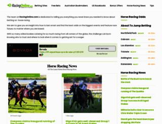 racingonline.com screenshot