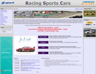 racingsportscars.com screenshot