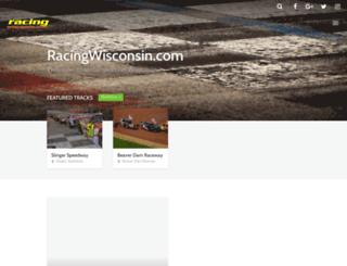 racingwisconsin.com screenshot