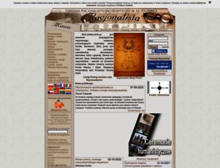 racjonalista.pl screenshot