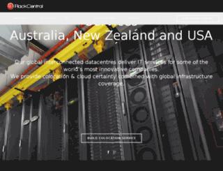 rackcentral.com.au screenshot