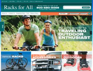 racksforall.com screenshot