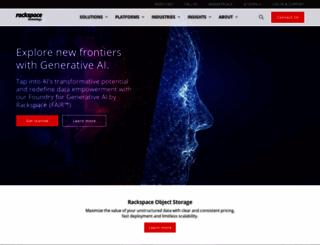 rackspace.com screenshot
