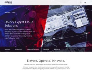 rackspacecloud.co.uk screenshot