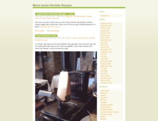 raclette-rezept.net screenshot