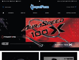 racquetforce.com screenshot