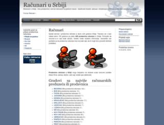 racunari.cu.rs screenshot