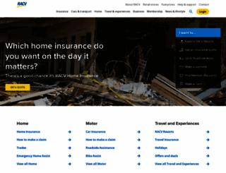 racv.com.au screenshot