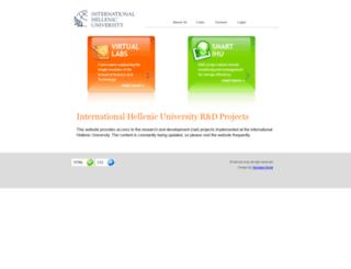 rad.ihu.edu.gr screenshot