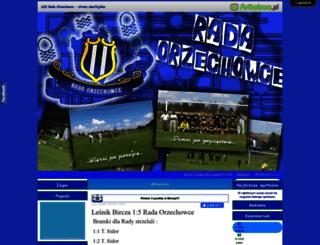 rada.futbolowo.pl screenshot