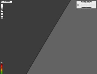 radar.bourky.cz screenshot